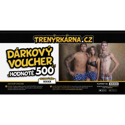 Elektronický voucher 500,- (zaslání pouze e-mailem)