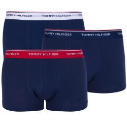 3PACK pánské boxerky Tommy Hilfiger tmavě modré (1U87903841 904)