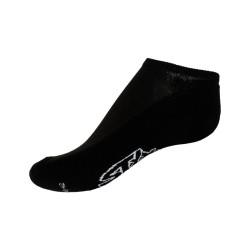 Ponožky Styx indoor černé s bílým nápisem (H252)