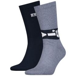 2PACK ponožky Levis vícebarevné (993048001 056)
