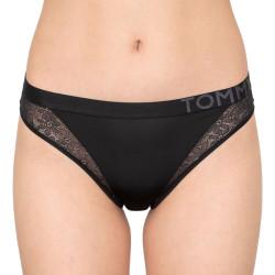 Dámské kalhotky Tommy Hilfiger černé (UW0UW01392 BEH/990)